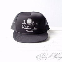 Vintage The Willow Tree trucker hat by prettylilpieces on Etsy