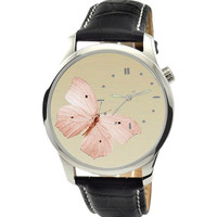 Butterfly Watch (Beige)
