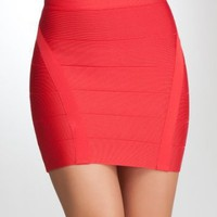 bebe | Bandage Mini Skirt