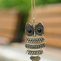 Cute Owl Necklace II | Yotta Kilo