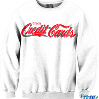 Enjoy Credit Cards CrewNeck