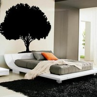 Enormous 80 inch tall Tree Vinyl Wall Decal | WilsonGraphics - Housewares on ArtFire