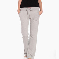 Pilates Pants in Gray
