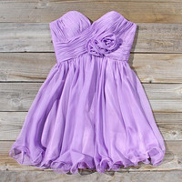 Lavender Bouquet Dress