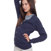 Unisex Baby Rib Cardigan | Long Sleeves | Shop American Apparel