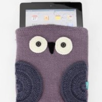 Knit Owl iPad Case