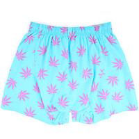 HUF Boxers Plantlife in Baby Blue