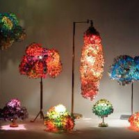 Stunning Living Pixels Lamps Made From Recycled Banners | Inhabitat - Green Design Will Save the World