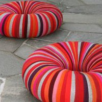 READER TIP: Colorful Drops Pouf Seating Made of Recycled Upholstery Material | Inhabitat - Green Design Will Save the World