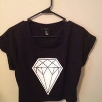 Diamond Crop Top