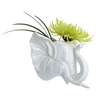 Elephant Safari Wall Vase - The Afternoon