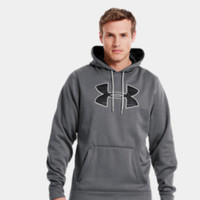 Men's Armour Fleece Storm Big Logo Hoodie | 1239447 | Under Armour US