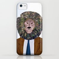 Uncle Leo's Portrait iPhone 5c 5s 5 4s 4 3gs 3g Samsung Galaxy s4 & iPod Impact Resistant Case by Vanya