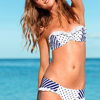 Stripe Push-Up Bandeau Top - Beach Sexy - Victoria's Secret