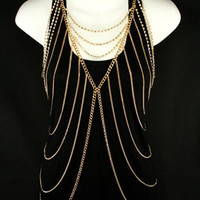 Goddess Layered Body Chain