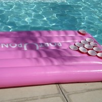 Port-o-Pong Portable Inflatable Beer Pong Table and Pool Pong Table (Pink):Amazon:Everything Else