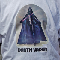 Vintage Darth Vader Shirt. Star Wars Darth Vader Design On Mens Or Womens Shirt. Choose Your Size.