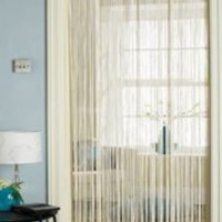 Spaghetti String Door Curtain in Cream [Kitchen & Home]