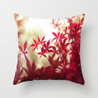 One September Afternoon Throw Pillow by Ann B.