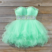 Spool Couture Mint Goddess Dress