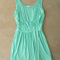 Summer Sky Dress in Mint [4257] - $36.00 : Vintage Inspired Clothing & Affordable Summer Frocks, deloom | Modern. Vintage. Crafted.