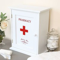 Wooden First Aid Cabinet