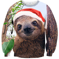 Christmas Sloth Sweater