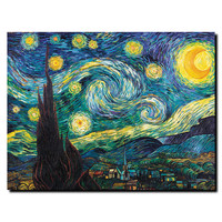 Vincent van Gogh 'Starry Night' Canvas Art | Overstock.com