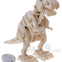 R/C Wooden Dinosaur: Build your own robotic dinosaur