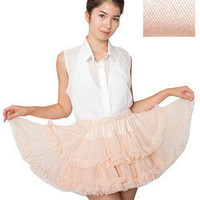 Multi-Layered Reversible Petticoat | Skirts | Shop American Apparel