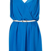 Wrap Front Chiffon Dress by Rare** - Dresses - Clothing - Topshop