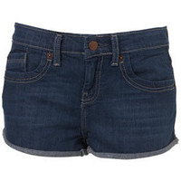 MOTO Denim Blue Hotpants - New In - Topshop