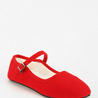 Urban Outfitters - Velvet Mary Jane Slipper