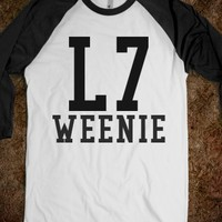 Supermarket: L7 Weenie Sandlot Baseball Shirt from Glamfoxx Shirts