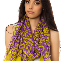 The Everything is Vine Scarf in Purple