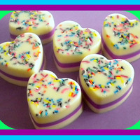 Soap - Cake Batter - Goat Milk Soap - Birthday, Party Favor | Luulla