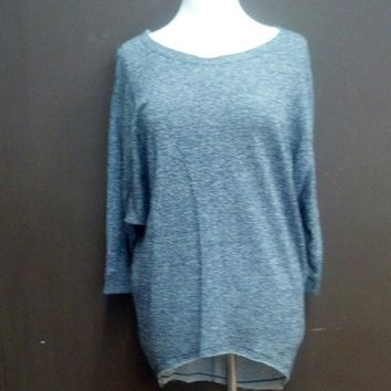 dolman hi low sweater