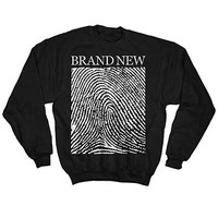 Fingerprint Crew Neck by Brand New