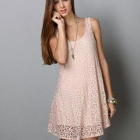 Fairy Fields Lace Pink Dress