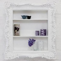 ruffle frame shelf - &amp;#36;0.00 : brocade home