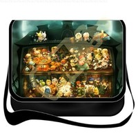 Coocool Beautiful Shoulder Bag/school Bag/messenger Bags/college Bag with Removable Cover Inspired By Anime Pokemon