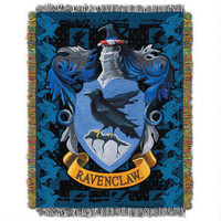Exclusive Ravenclaw Crest Tapestry Throw |