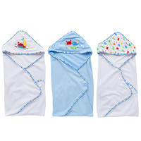 Babies R Us 3-Pack Hooded Towel Set - Boy