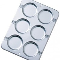 Wilton Round Cookie Treat Pan, 3 1/2 in. Diameter x 1/4 Inch Deep:Amazon:Kitchen & Dining