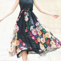 CHARMING DRESS HIPPIE RETRO FOR SUMMER by xiaolizi on Etsy