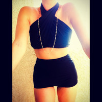 Black High Waisted Bikini