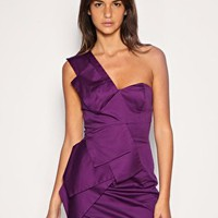 ASOS | ASOS Folded Origami One Shoulder Dress at ASOS