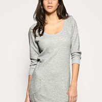 ASOS | ASOS Large Loop Back Cosy Sweater Lounge Dress at ASOS