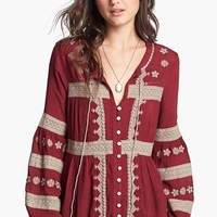 Free People 'Iris' Peasant Top | Nordstrom