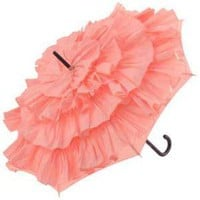 Brolliesgalore Cancan Parasol by Guy de Jean - Candy Pink